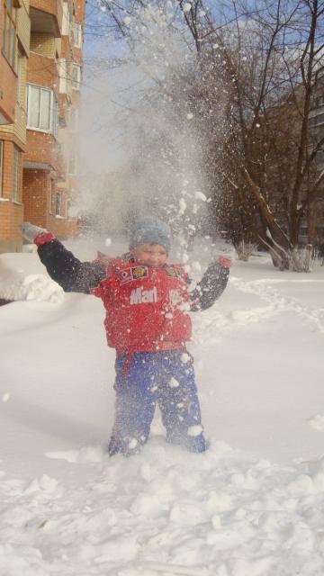 И снег тоже любим!