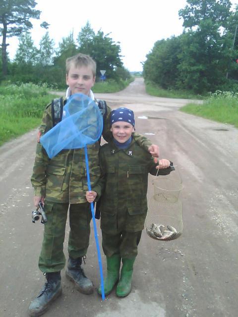 С братом на рыбалке! Игорь Рокотянский